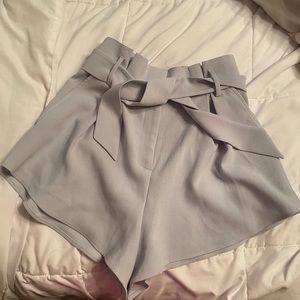 Leith light blue dress shorts